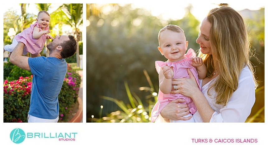 family photo shoot in the turks and caicos