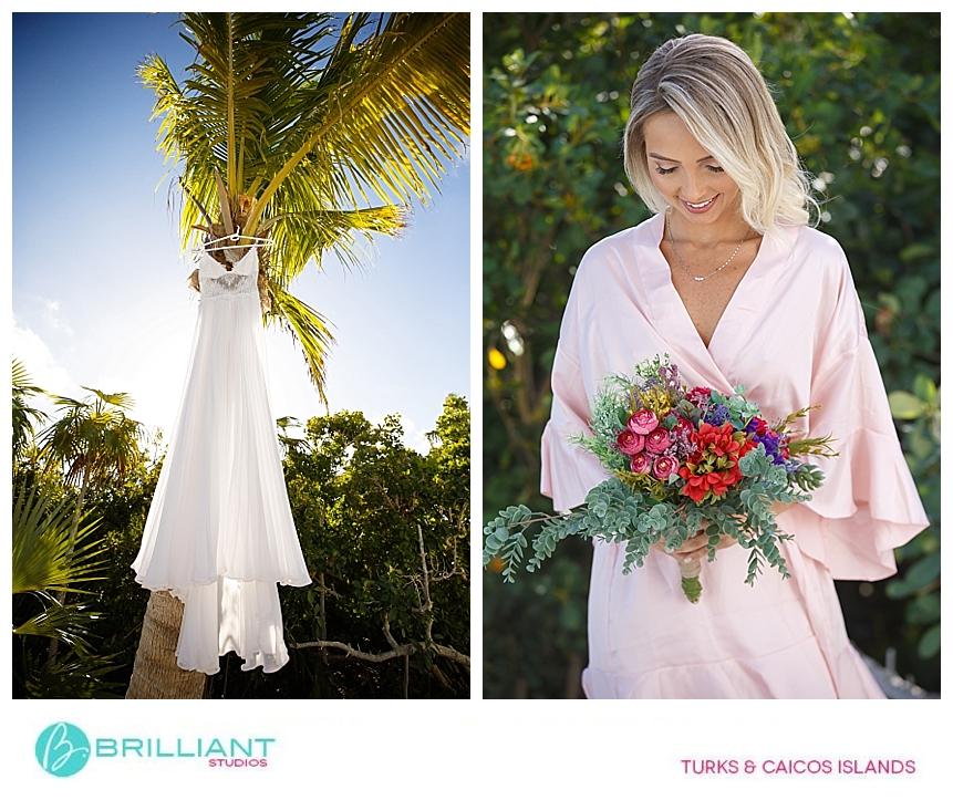 turks and caicos bride