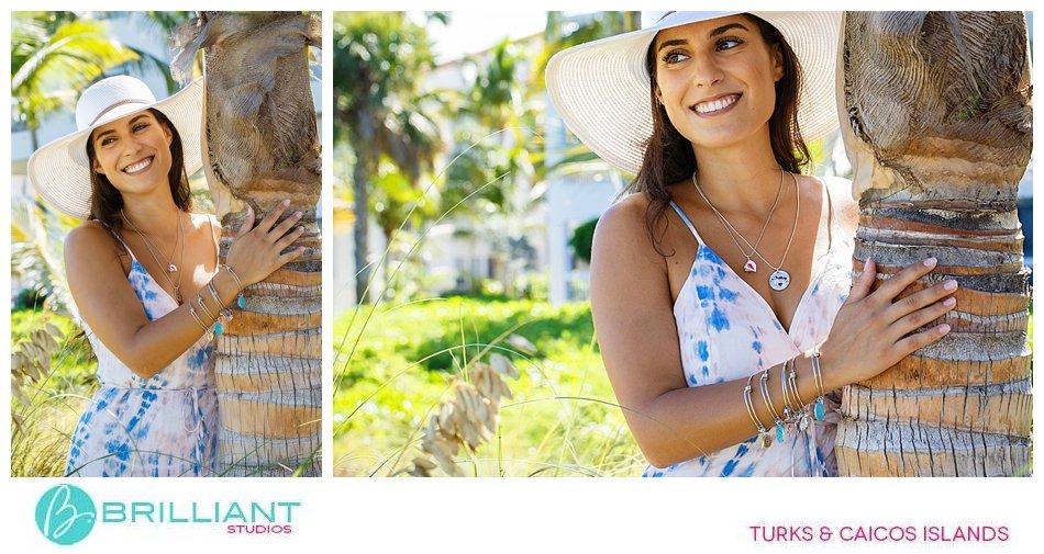 jewelry fashion shoot Turks and Caicos