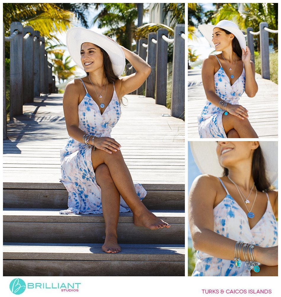 fashion photo shoot Turks and Caicos Islands