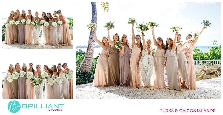 bridal party Turks and Caicos Islands