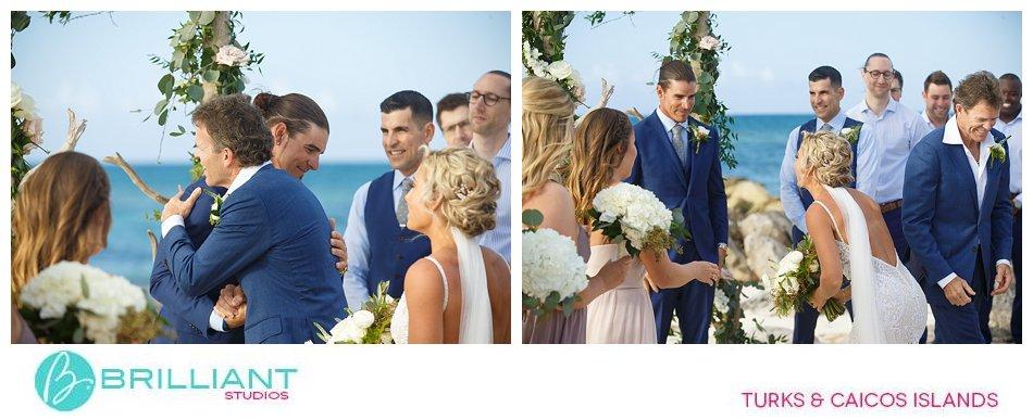 Beach wedding Turks and Caicos