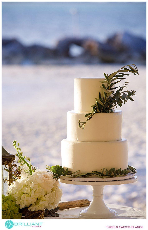wedding cake turks and caicos