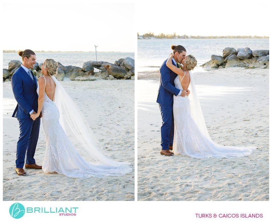 wedding couple Turks and Caicos Islands