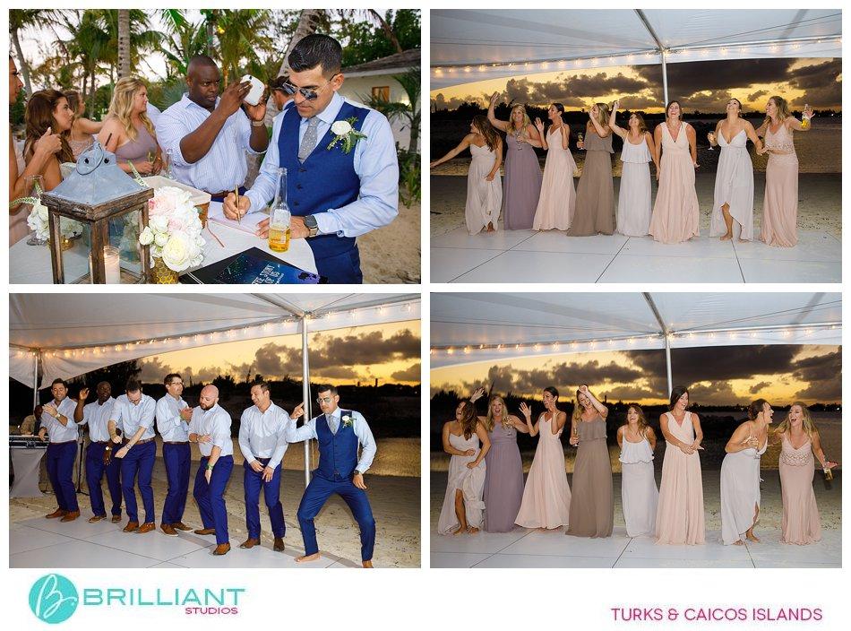 reception turks and caicos islands