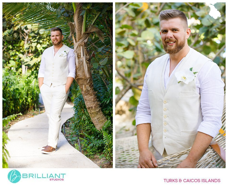 groom at Sands Turks and Caicos