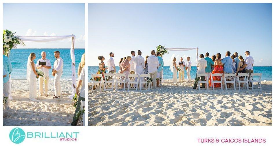 Grace Bay Beach Ceremony Turks and Caicos