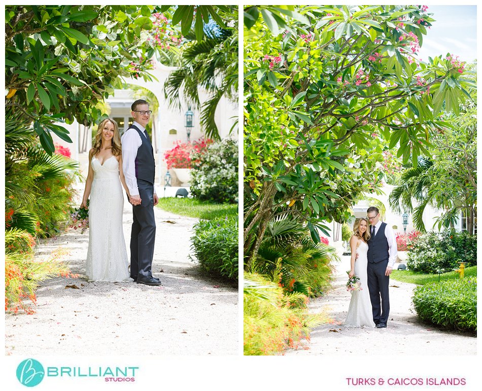 wedding ceremony location Turks and Caicos