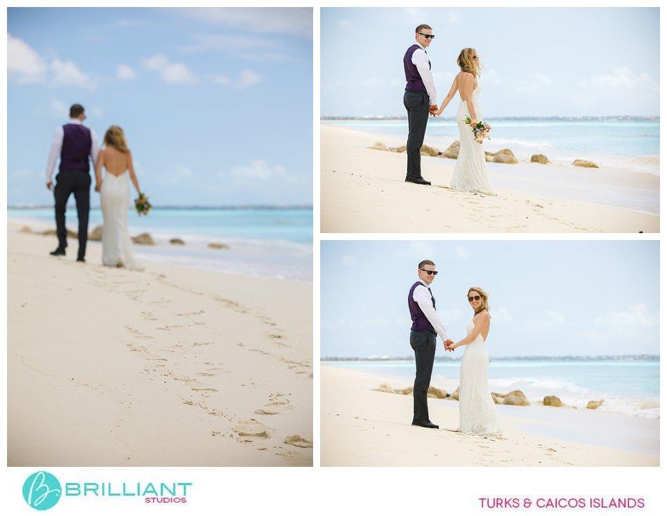 Leeward Beach wedding Turks and Caicos