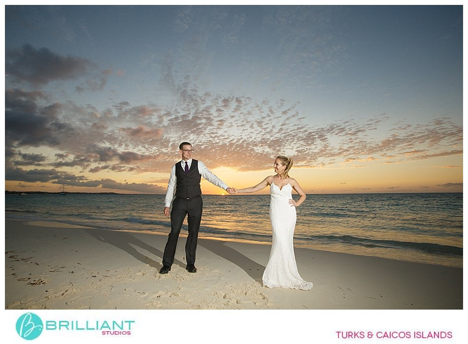 Sunset photography Palms resort Turks and Caicos