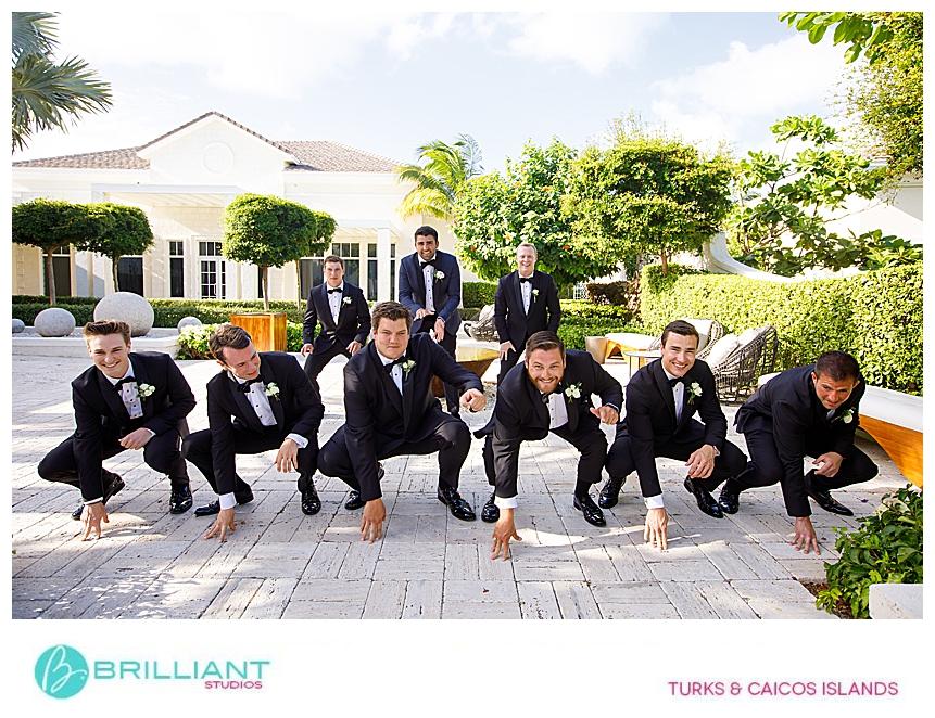 turks and caicos groomsmen