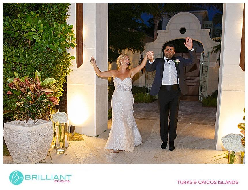 bride and groom at their destination wedding