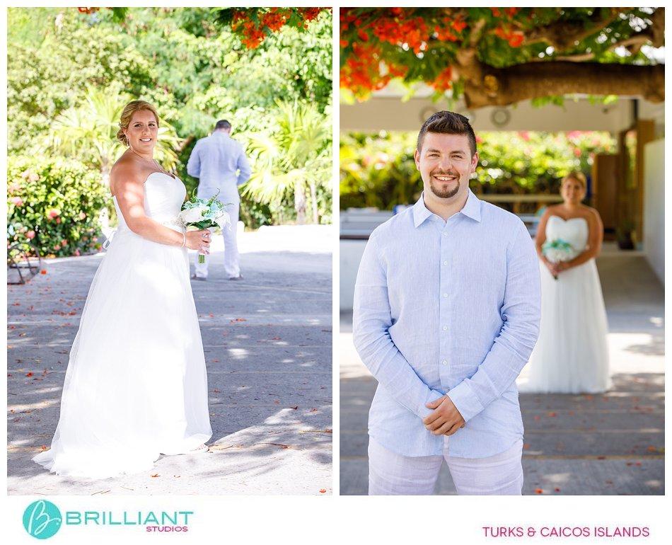 Club Med Turkoise wedding couple