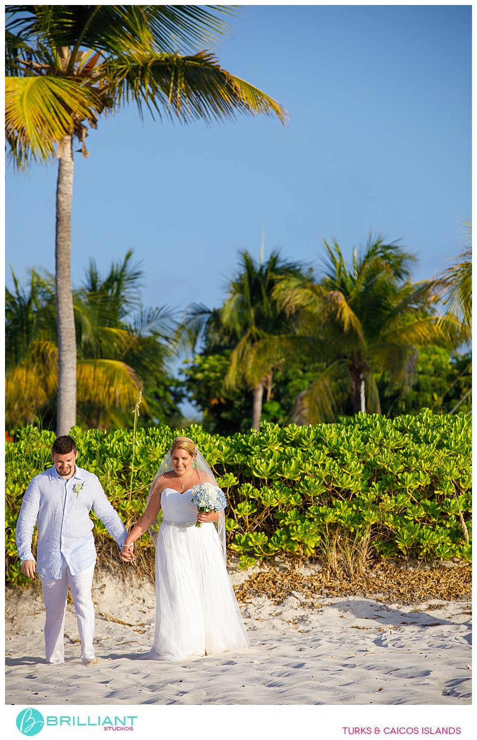 Beach wedding ceremony at Club Med Turkoise
