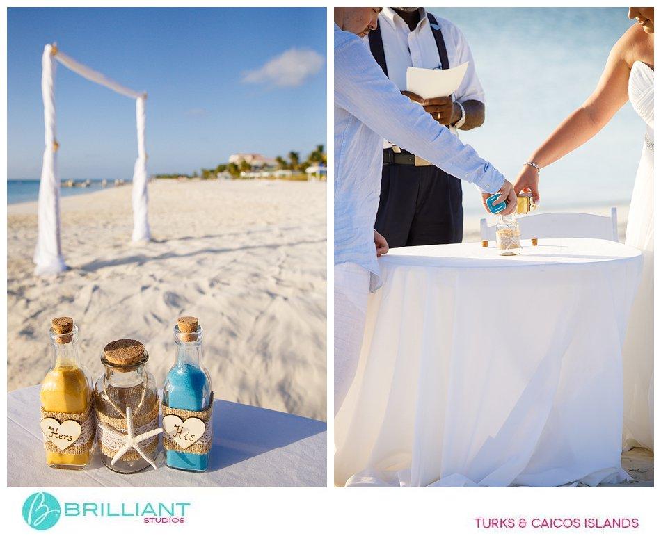 sand ceremony Turks and Caicos Islands
