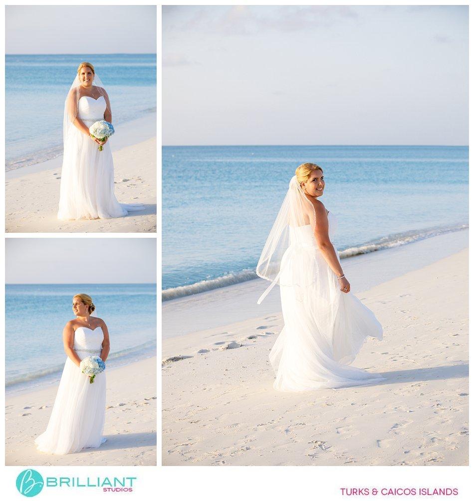Turks and CAicos islands bride
