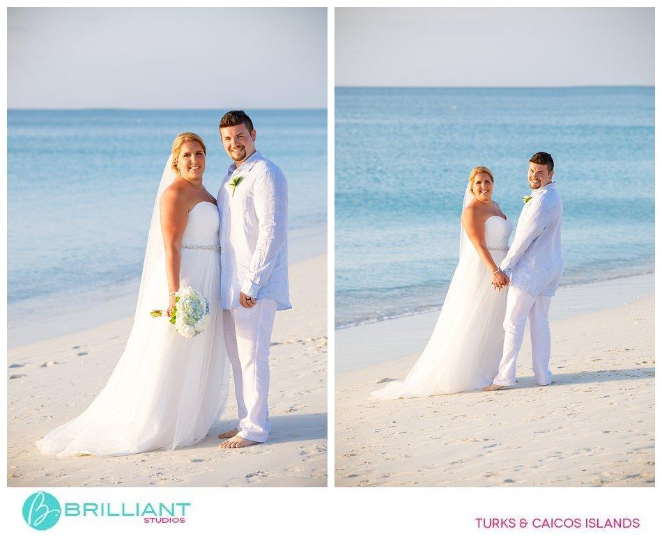 Turks and Caicos Islands beach wedding