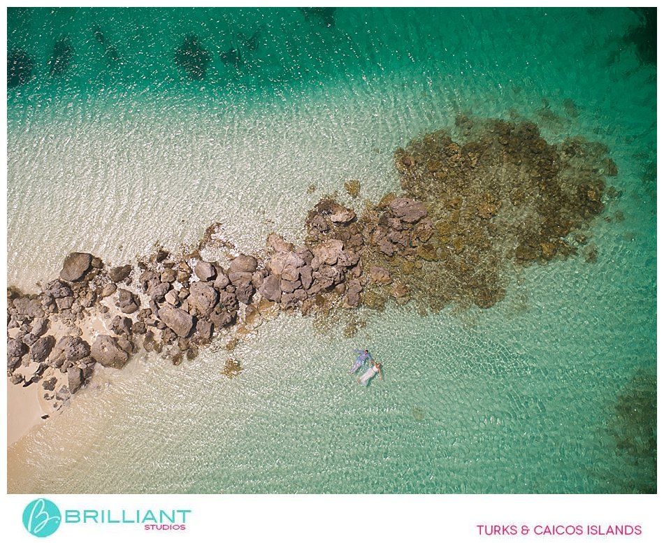 Turks and Caicos Islands drone photography