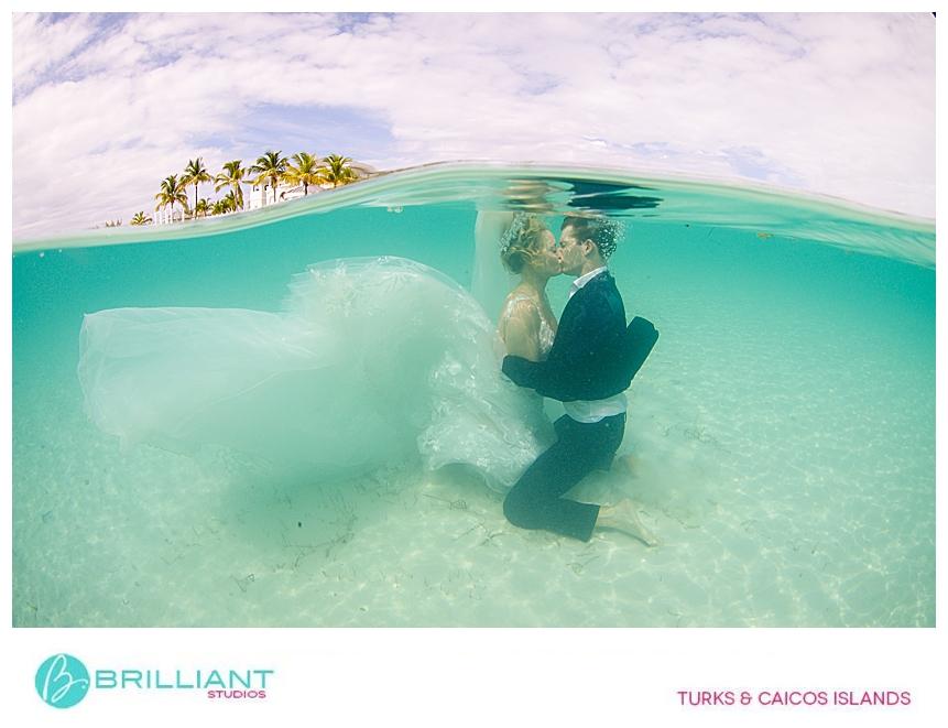wedding couple doing a photo shoot with Brilliant Studios
