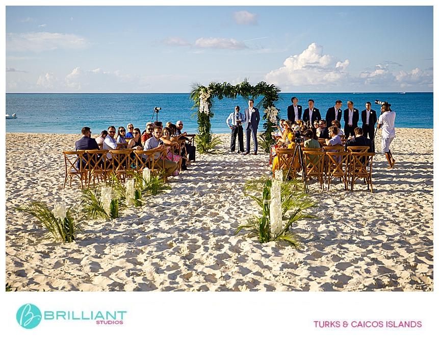 Grace Bay beach destination wedding