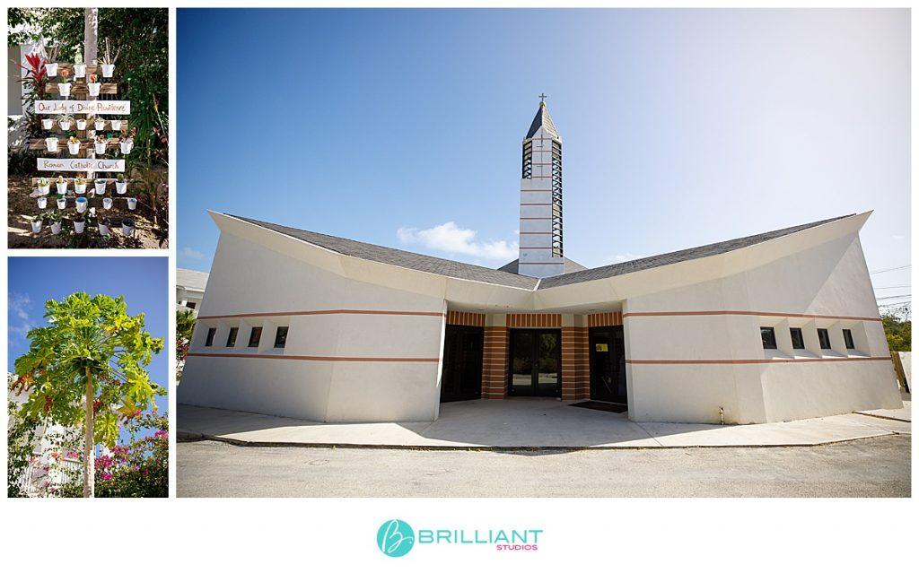 Catholic Church wedding Turks and Caicos