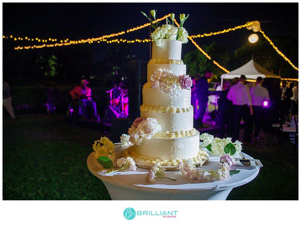 Turks and Caicos wedding cake