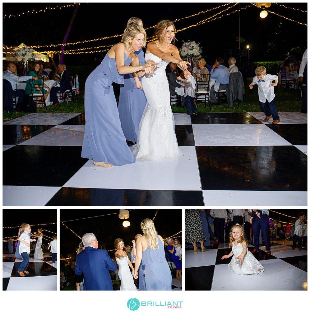 The Palms wedding reception