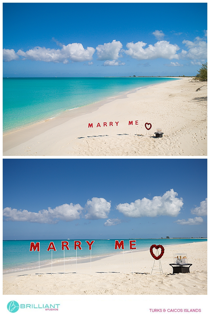 Turks and Caicos luxury proposal