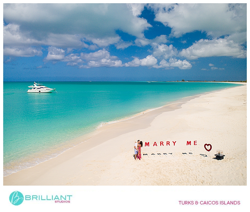 Turks And Caicos Luxury Secret Proposal On Pine Cay