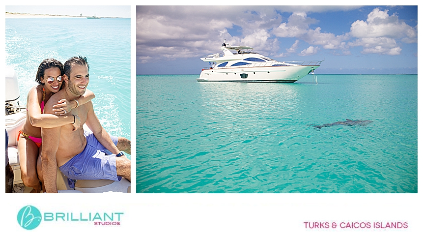 couple in the Turks and Caicos Islands