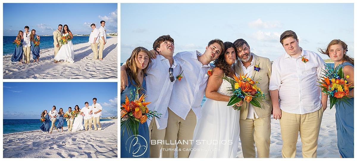 Turks and Caicos family wedding