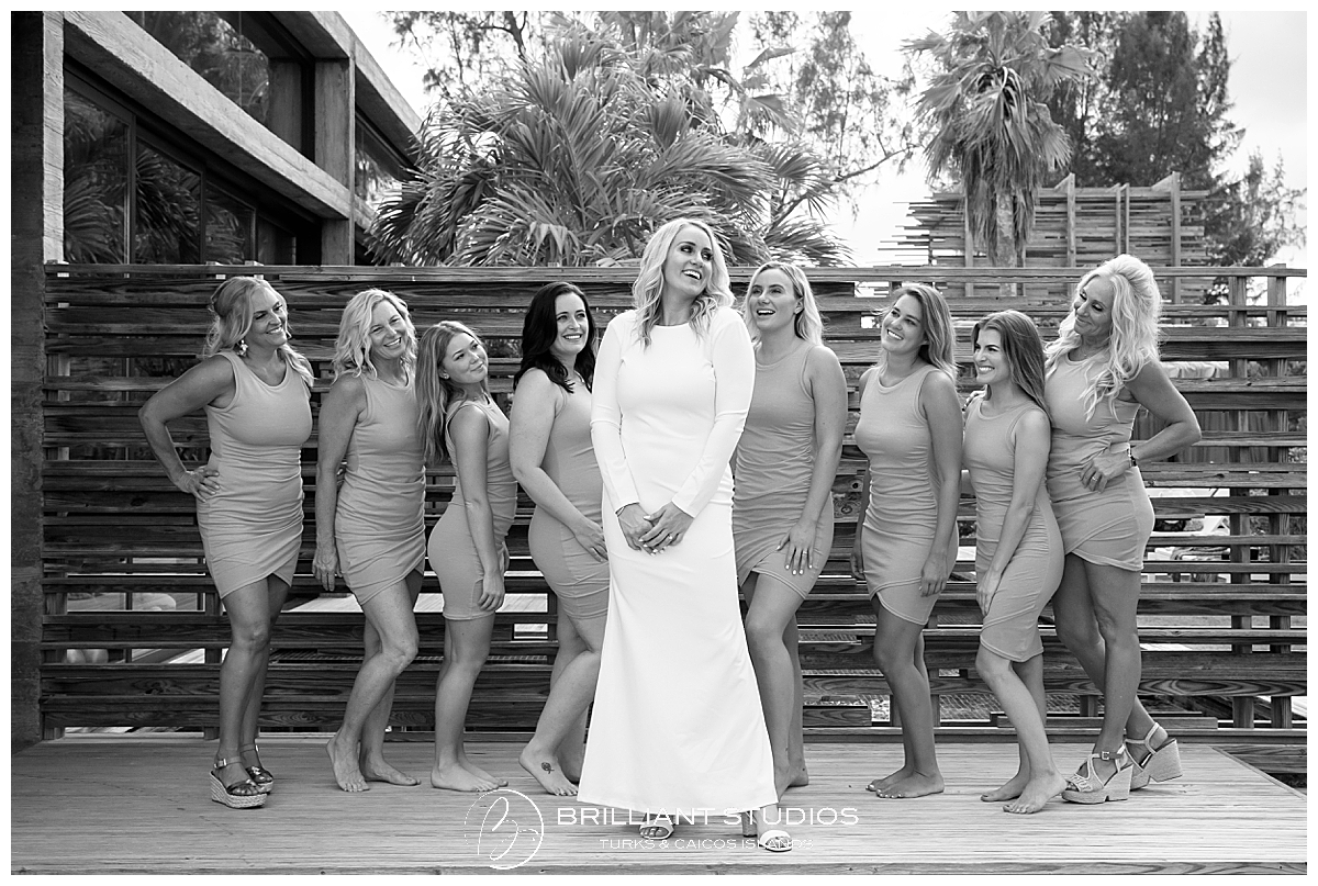 Turks and Caicos Bachelorette Photography