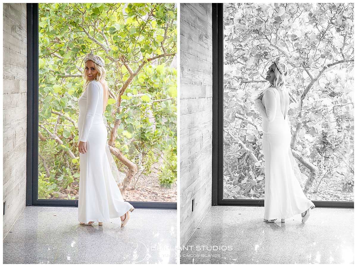 Turks and Caicos bridal photography