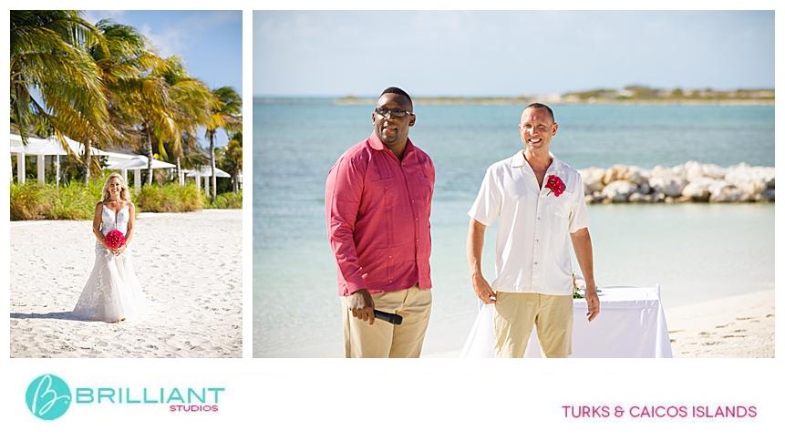ambergris cay beach wedding