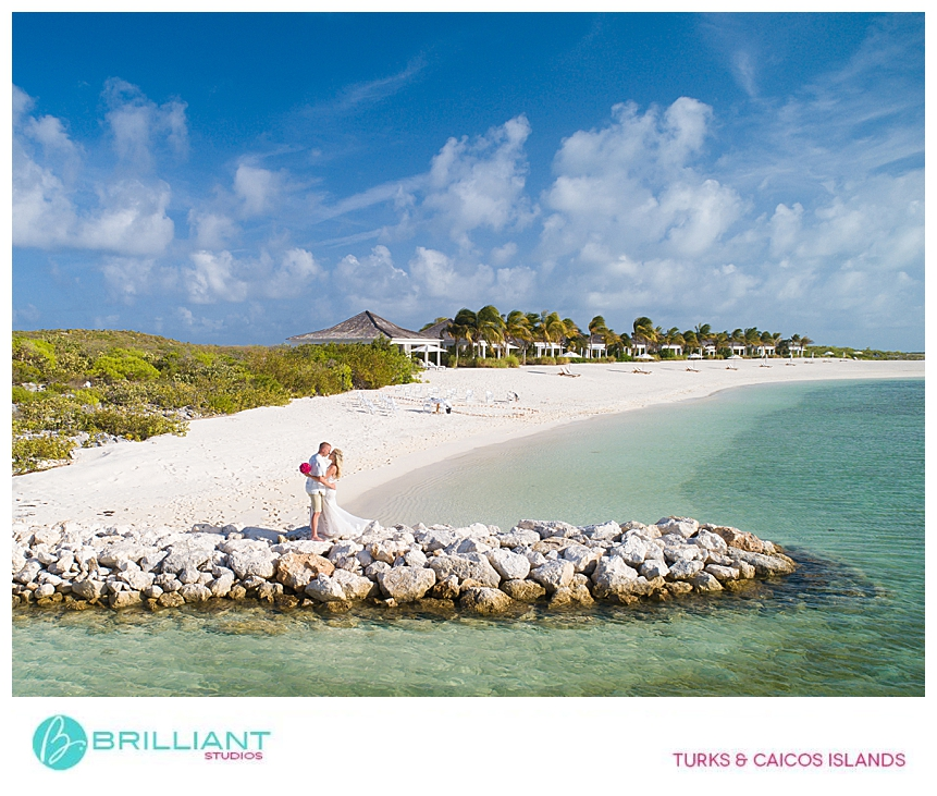 Destination wedding at Ambergris Cay Turks and Caicos