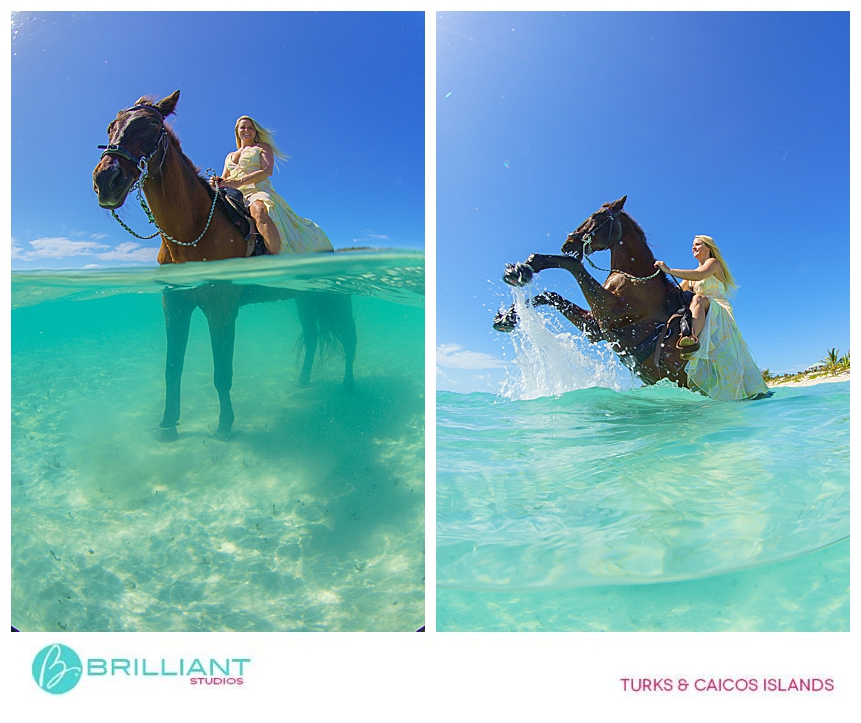 Underwater photos with Provo Ponies