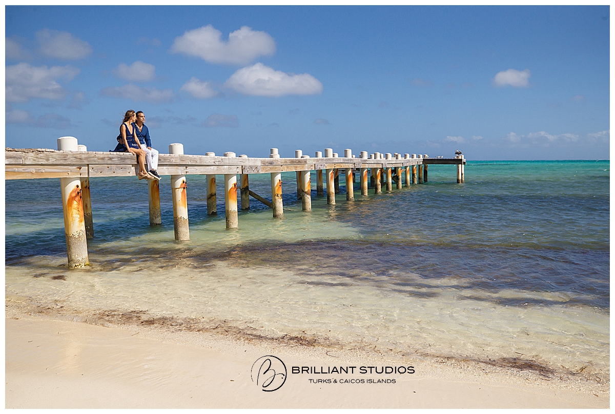 Turks and Caicos Engagement Photo Shoot
