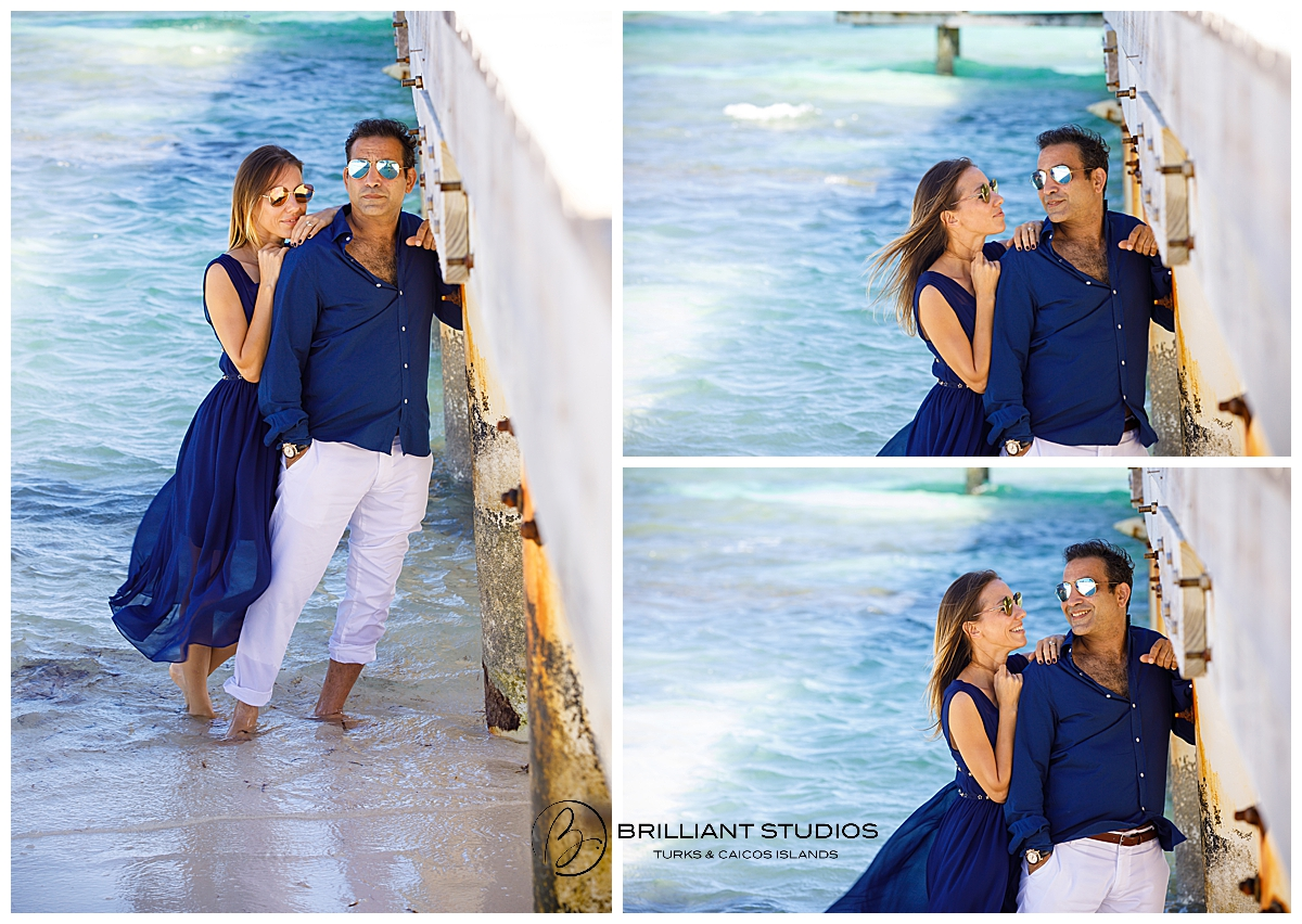 Turks and Caicos Couple photo shoot