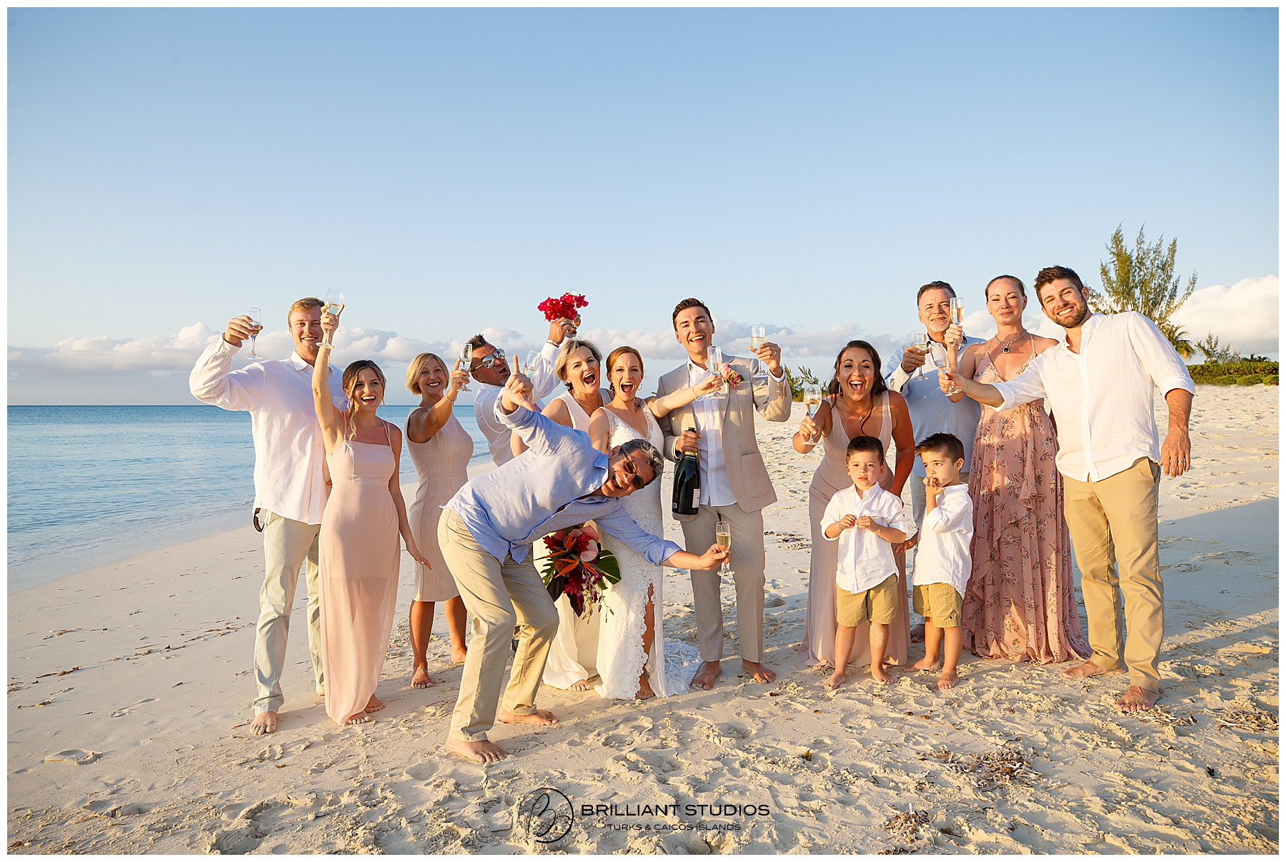 Turks and Caicos Wedding Family Photography