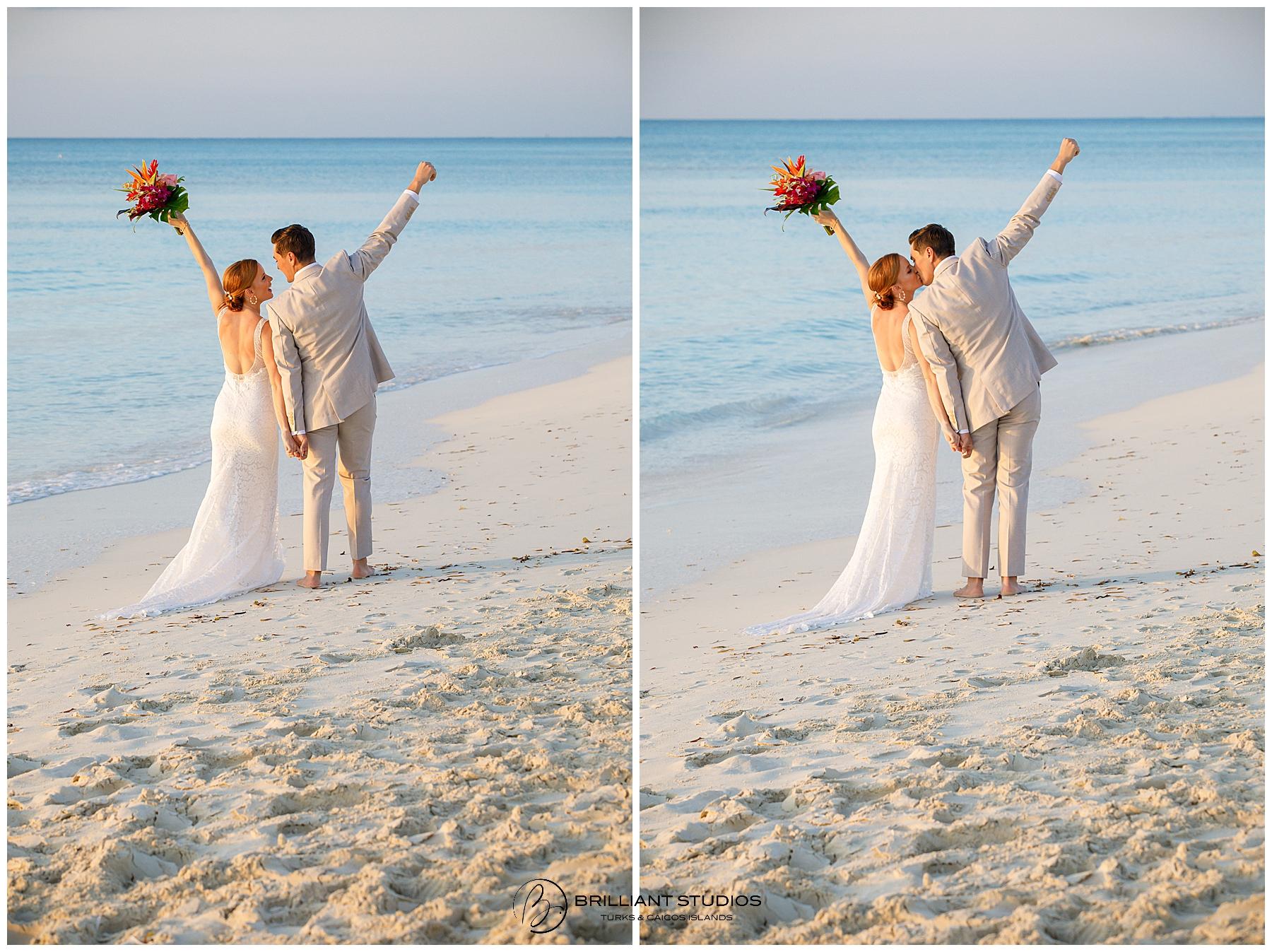 Ocean Club East wedding Turks and Caicos